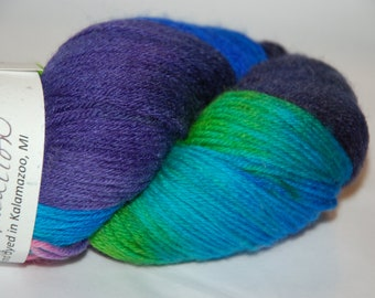 Studio June Yarn Super Cash Sock - Cashmere, Superwash Merino, Nylon - Color: Spring Vacation
