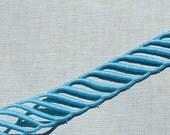 Vintage Trim Embroidered Trim Bright Blue