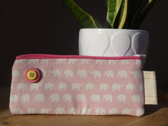 Jungle Elephant Pencil Case