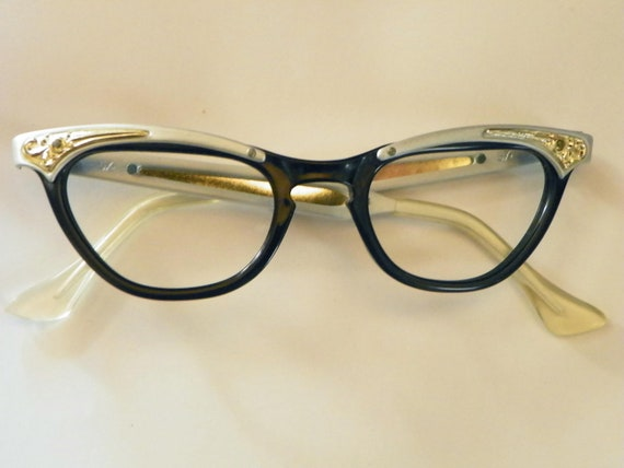 Gold Fancy Eyeglasses