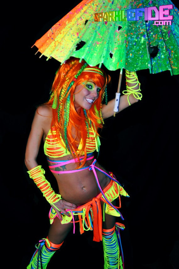LED Ignition Tribal Rave Outfit