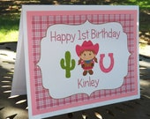 Table Decor - Table Tents,  Customized Party Decor by The Birthday House
