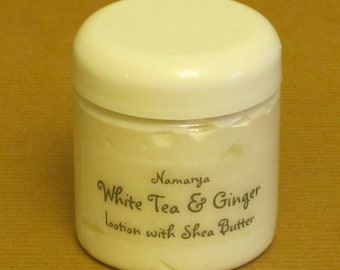 White Tea & Ginger Lotion with Shea Butter