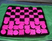 Custom Crocheted Checkerboard--RESERVED listing