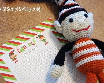 The Elf Planner - Printable Christmas Planner for Your Family Elf Tradition