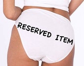 Reserved for Katie -  'KATY'
