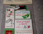 Dollhouse Christmas Holiday Clutter  in 1/12 Scale -SALE-