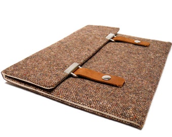 "11"" MacBook Air sleeve - brown tweed"