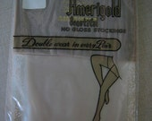 50s Stockings Nylons 1950s  New Old In Package Deadstock Pin Up Size 10