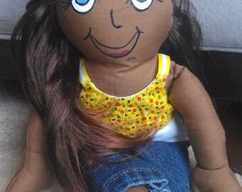 """13"""" Rag Doll"""