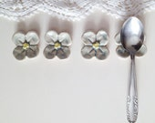 Light blue Flower For Your Teaspoons: Six Little Flowers -  Gres - lofficina