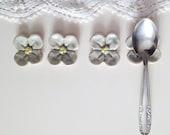 Light blue Flower For Your Teaspoons: Six Little Flowers -  Gres