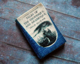Miniature Book --- Poe's Tales of the Grotesque and Arabesque