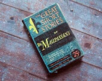Miniature Book --- Maupassant Stories