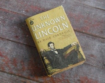 Miniature Book --- The Unknown Lincoln