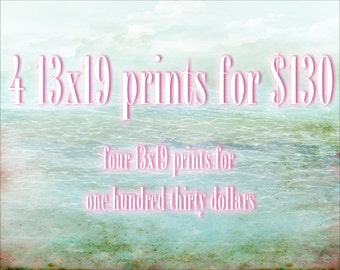 Special Savings - Four 13x19 Giclee Art Prints - Save on Multiple Prints - Any four of my illustrations Large Size