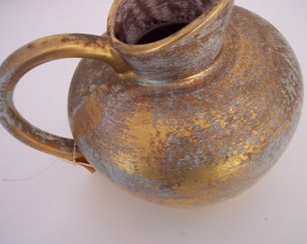 Stangle pottery gold and vintage