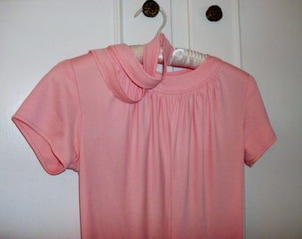 Handmade Orange Sherbet Cap Sleeve Dress Size 6/8