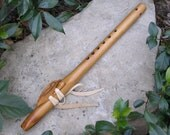 Key of Bm Native American Style Flute - Myrtlewood Hardwood - Pentatonic Modes 1 & 4 Tuning
