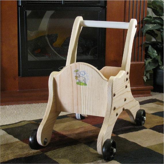 Toddler Push Cart Baby Shower Gift