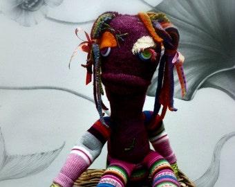 Sock Monster - Iridia