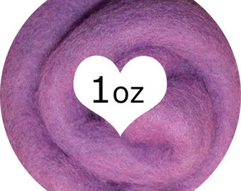 Needle Felting Norwegian C1 Fusion Batts Exclusive from Dream Felt - ORCHID 1oz