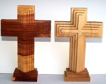 Relief cut 4 Layer  Crosses
