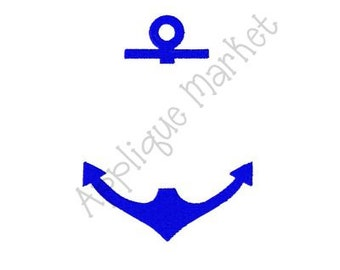 Machine Embroidery Design Anchor Embroidery INSTANT DOWNLOAD