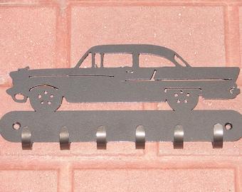 55 Chevy Chevrolet KEY RACK Coat Hook Leash Classic Car Automobile Vintage