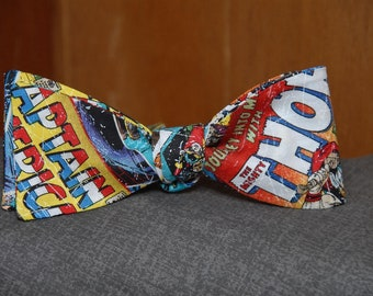 Marvel Comics Action  Bow tie