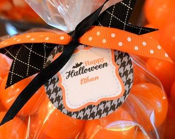 Halloween Printable Gift Tags - Eerie & Cheery