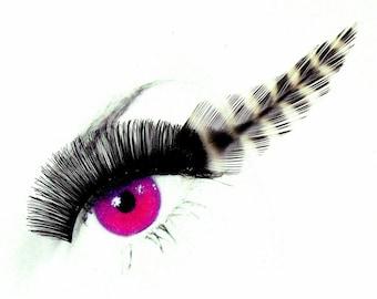 Jailbird - Handmade Feather Eyelashes