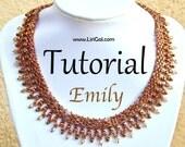 Emily SuperDuo Beadwork Necklace PDF Tutorial
