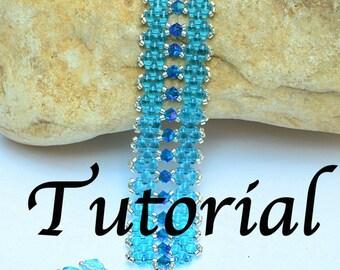 Loren Super duo Beadwork Bracelet PDF Tutorial