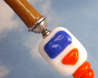 Hairstick School Glue In Artisan Glass
