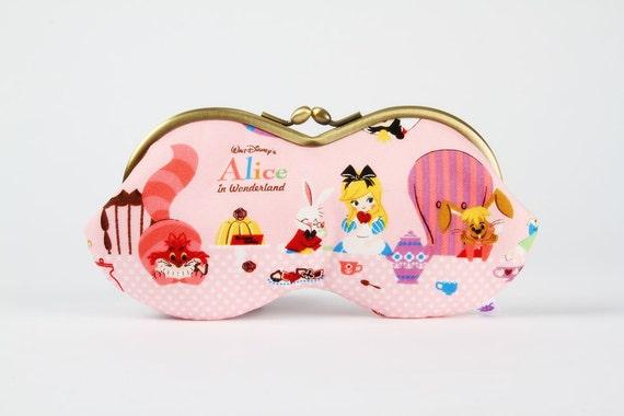 Peanut - Alice Tea party - eyeglasses metal frame purse