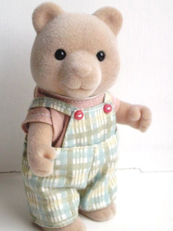 Sylvanian Families -- vintage Mr. Hungtington or Honeybear like maple town calico critters forest families