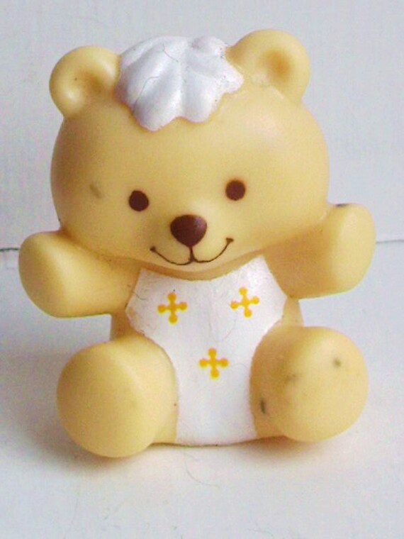 Jelly Bear -- Strawberry Shortcake Butter Cookie pets 1980s eighties 80s 70s 1970s dolls miniatures animals