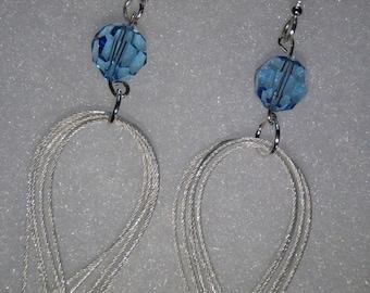sterling silver multihoop earrings