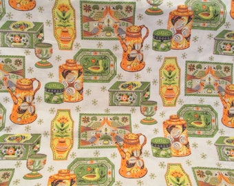 Vintage Fabric 1 yard x 36 inches wide more available