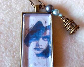 Ragamuffin necklace, Blue Girl, No.52
