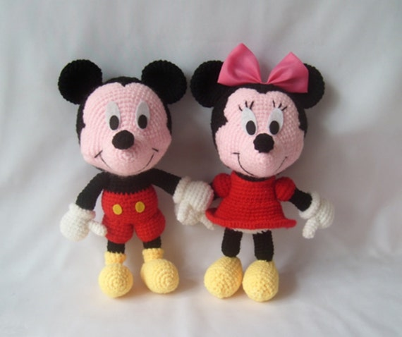 Minnie Mouse Amigurumi Paso A Paso : Unavailable Listing on Etsy