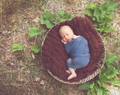 CLEARANCE Brown Cocoon Blanket Photo Prop, Newborn Photo Prop Baby Blanket, Photography Prop, Newborn Blanket, Props for Babies, Boy Props