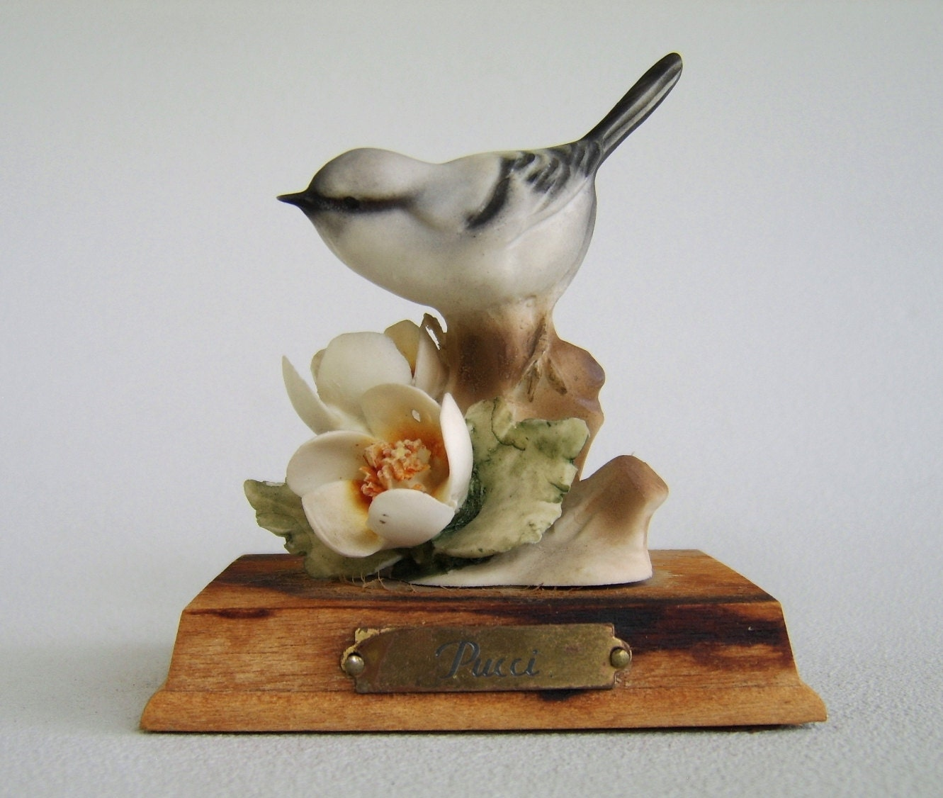 Figurine Porcelain And Birds On Pinterest