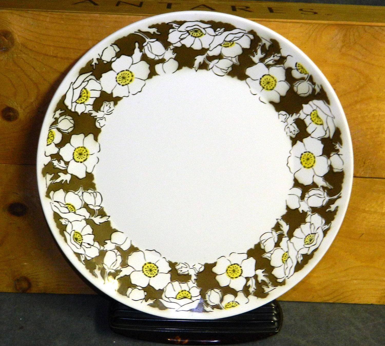 Corona ironstone serving platter vintage