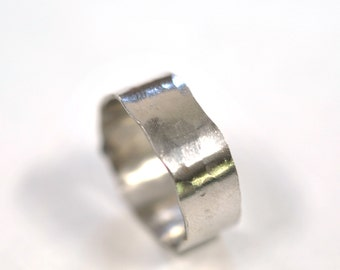 Sterling Silver Forged Ring