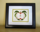 Apple Giclee Print