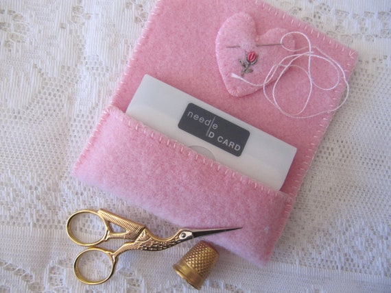 Needle ID Card Holder with Embroidery