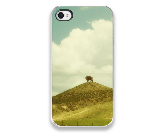 IN STOCK SALE - iPhone 4 Case - Ocean photograph - Beach photography iPhone Cover - ocean waves summer blue checkers
