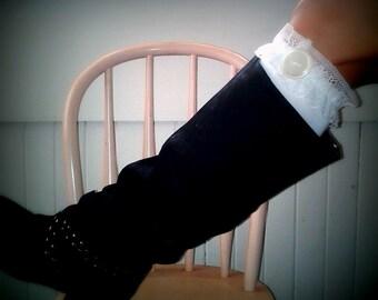 Get ur Prairie Chic Knee Hi Boot Socks